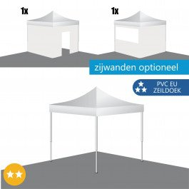 Easy Up Tent 3x3 Collective PVC Europees