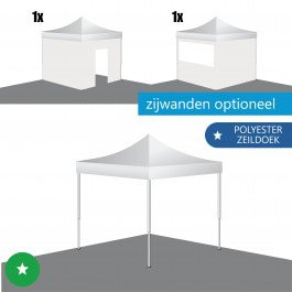 Easy Up Tent 3x3 ECO-STAAL