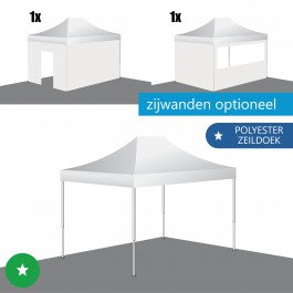 Easy Up Tent 3x4,5 ECO-STAAL