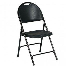 Klapstoel Sparta-Zwart-PP Zwart