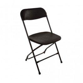 Klapstoel Titan -Zwart-PP Zwart