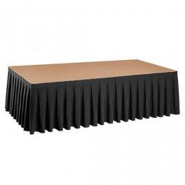 Podiumrok Boxpleat (lengte: 410 cm)