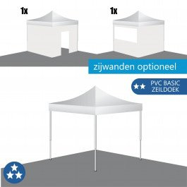 Easy Up Tent 3x3 RP (PVC Basic)