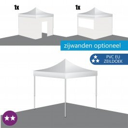 Easy Up Tent 3x3 S-LIGHT PVC Europees