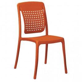 Stapelstoel Factory-Oranje #FF3300