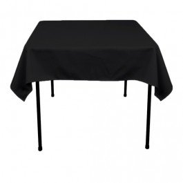Tafelkleed Classic polyester Zwart
