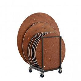 Transportkar Buffet- en klaptafels rond