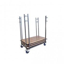 Transportkar Buffet- en klaptafels rechthoekig