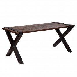 Tafel Vintage Barnwood (met X-voet)