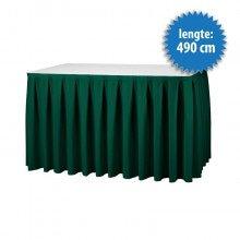Buffetrok Boxpleat 490 cm