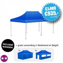 Bodemprijs: Easy Up Tent S-LIGHT 360, met ultrasterk zeil (35% korting!)